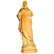 SALE Metal Jesus Catholic Church Statue Figure
