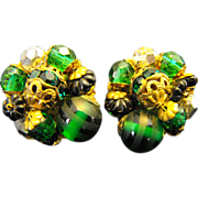 SALE Robert Emerald Green Earrings