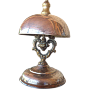 Victorian Silvered Hotel Bell