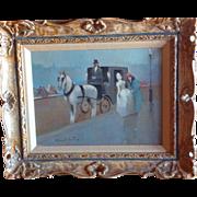 Original Oil Painting by Listed Artist Joan Giralt-Lerin