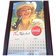 Coca-Cola Cowboy Advertising Poster
