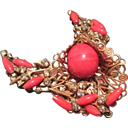 Haskell Pin with Faux Coral