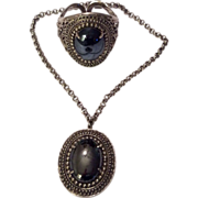 Whiting & Davis Bracelet Necklace Set