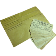 3 L & N R.R. envelopes & 9 Brotherhood Trainmen cards