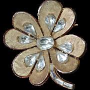 Four Leaf Clover TRIFARI Brooch Pin