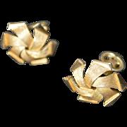 TRIFARI Pinwheel Earrings