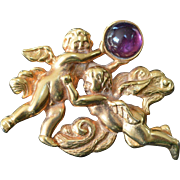HMR Cupid Brooch Pin
