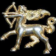 DA VINCI Sagittarius Brooch Pin