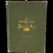 SOLD Group of 17 steel engravings Gallery of British art 19th century