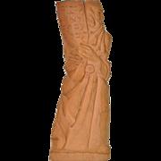 REDUCED Bernard ZAKHEIM Terracotta Sculpture of Moses with Horns c.1953