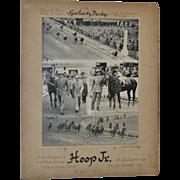 REDUCED Bert Morgan Kentucky Derby Track Photo c.1945