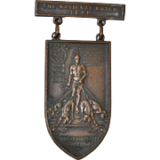 SOLD The National Match Team Dogs of War Medal c.1904