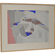 """REDUCED Jeff Long """"Indian Wells"""" c.1983"""