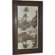 REDUCED Lehnert & Landrock Antique Photograph of Egypt c.1900