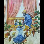 Charming Vintage Folk Art Mice by Mabel Austin c.1940's