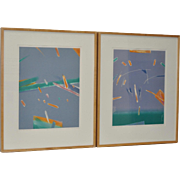 Mireille MORENCY-LAY Monotypes c.1983