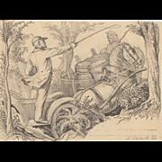 Karl Ludwig Adolf Ehrhardt Original Drawing c.1872