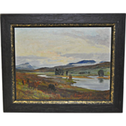 Vintage Oil Painting by Lionel Edwards c.1961