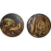Pair of French Morocco Paintings c.1900-1920