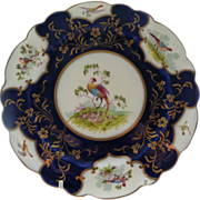 REDUCED Striking Antique George Jones Crescent China Plate .