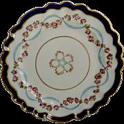 Very Pretty George Jones Decorative Plate C. 1910-20