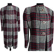 Vintage Pauline Trigere Coat//Designer Coat//Winter//Coat//1980s coat//Vintage 1980s Coat//80s