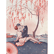 SOLD Valentine Perfect-Original Art Deco print