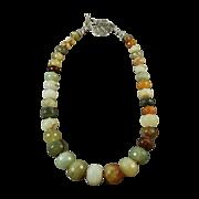 Golden Amazonite Necklace