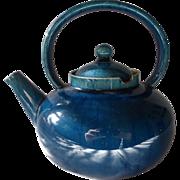Christopher Dresser Linthorpe Pottery Turquoise Teapot 19C Antique Rare