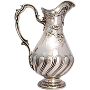 SALE A French Silver Pitcher by Emile Puiforcat, Paris, late 19th / early 20th