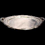 "SALE International Sterling Silver ""Richelieu"" Pattern Two Handled Tea Service Tray"