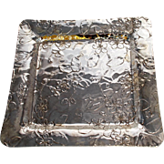 Tiffany Sterling Silver Square  Tray,