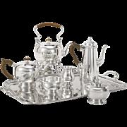 SALE Ensko Georgian I Style Sterling Seven-Piece Tea Service