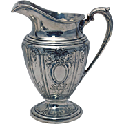 SALE Sterling Silver Maintenon Style Water Pitcher