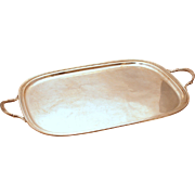 SALE Sterling Silver George V Style Tray