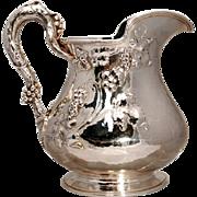 SALE Gorham Art Nouveau Sterling Silver Water Pitcher