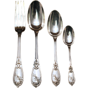 SALE French 950 Henin & Vivier Flatware Set
