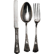 SALE French 950 Silver Boxed Dessert Flatware Set