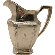 SALE Wallace Sterling Silver Pitcher