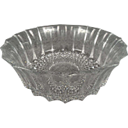 Crystal 24% Lead Candy Dish