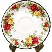 Royal Doulton Old Country Roses Saucer
