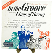 In the Groove with the Kings of Swing LP Vinyl Records x 6 c. 1960s