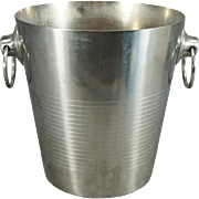 Vintage Letang Remy Champagne Ice Bucket Stainless Steel