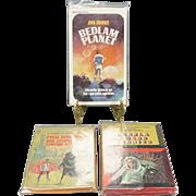 3 x 1950's Science Fiction Paperback Novels