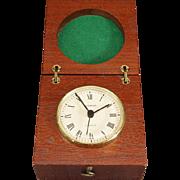 Dugena Clock In A Beautiful Wood Case