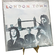 London Town By Paul McCartney And Wings LP Plus Large Poster C. 1978