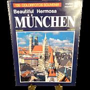 Munchen- The beautiful Hermosa- 135 Colorfotos Souvenir.
