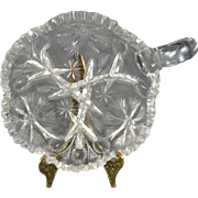Glass Serving Dish With Handle