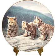 Three of a Kind - Charles Frace from Small Wonders of the Wild Plate Collection