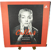 Maria Callas Portrays Puccini Heroines With the Philharmonia Orchestra Record